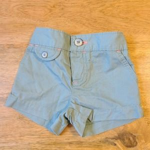 Carters 3 Month Teal Pink Seam Shorts
